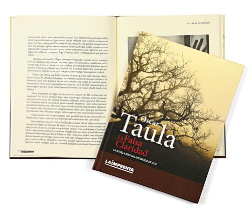Impresión de libros en blanco y negro