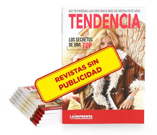 Revistas sin publicidad con IVA superreducido 4%. Encuadernadas en tapa blanda o rústica.