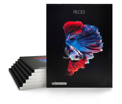 Imprimir libros de fotografía con encuadernación tapa blanda o rustica