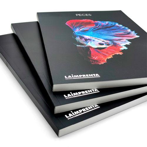 Imprimir libros de fotografía con encuadernación tapa blanda o rústica