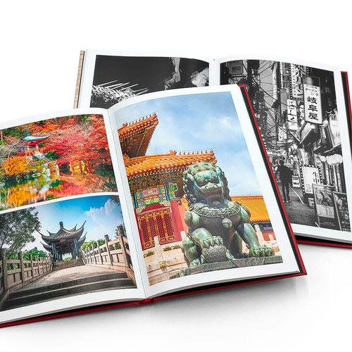 Impresión de fotolibros en blanco y negro y en color
