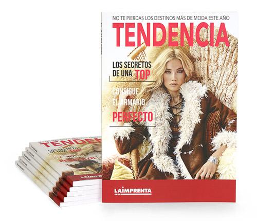 impresión de revistas encuadernadas en tapa blanda - rustica