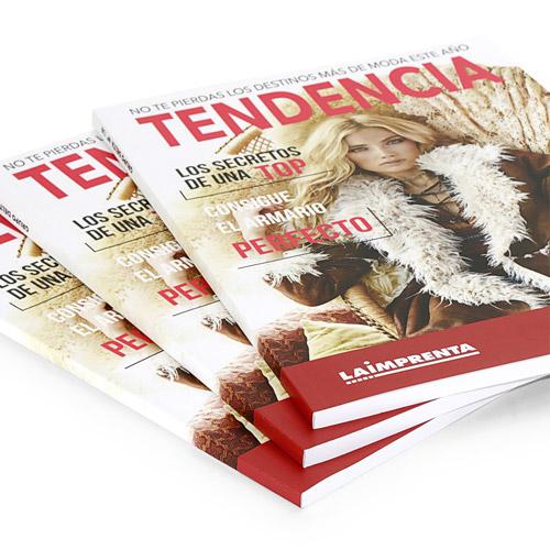 ejemplo de revistas encuadernadas en tapa blanda o rustica