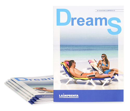 imprenta de revistas con encuadernacion grapada
