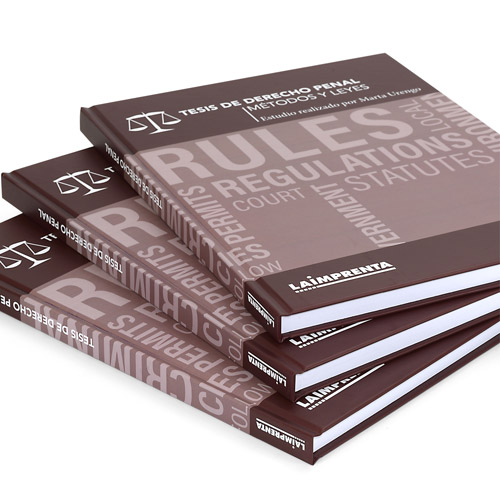 ejemplo de portadas de tesis encuadernadas en tapa dura