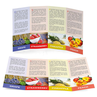 folletos desplegables cuadripticos calcular precio impresion