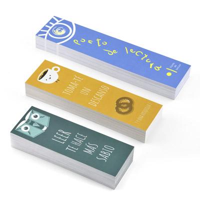 imprimir marcapaginas baratos