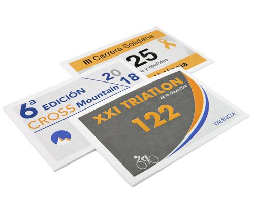 imprimir dorsales baratos de carreras