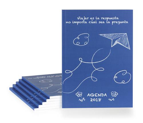 presupuestar una agenda encuadernada en tapa blanda o rustica