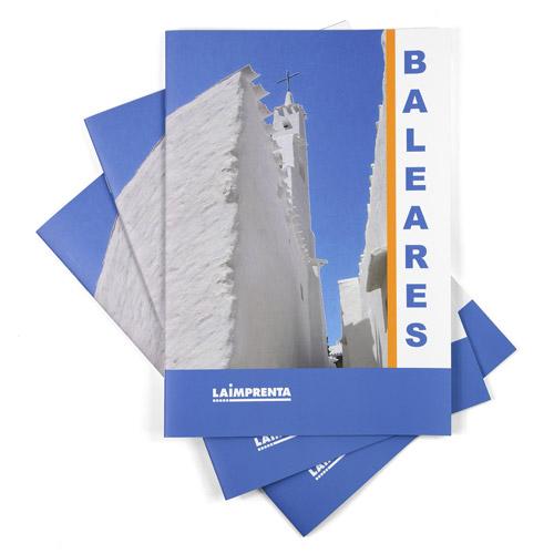 ejemplo de portadas de un folleto barato grapado