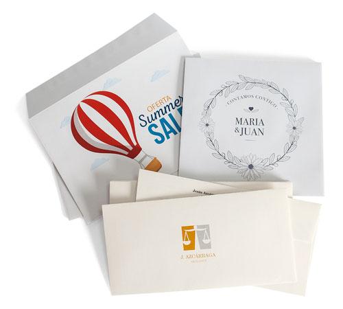 imprimir sobres especiales para invitaciones