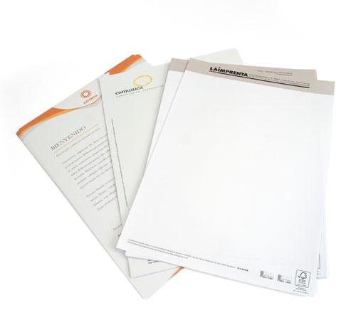 imprimir papel de cartas urgente y de calidad