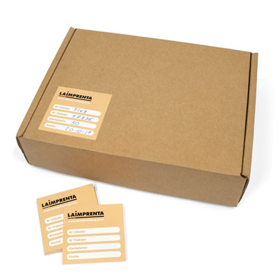 precio de imprimir adhesivos rectangulares