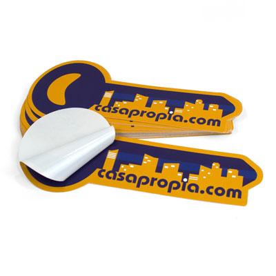 adhesivos recortados con formas personalizadas