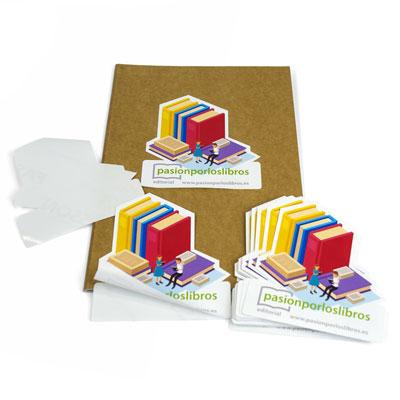 impresión de adhesivos recortados personalizados baratos