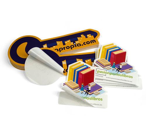 imprimir adhesivos recortados con la forma personalizada que desees