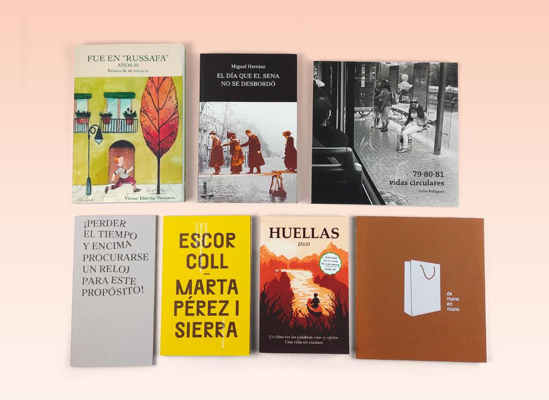 Tamaños recomendados para novelas, poesía, ensayos, etc