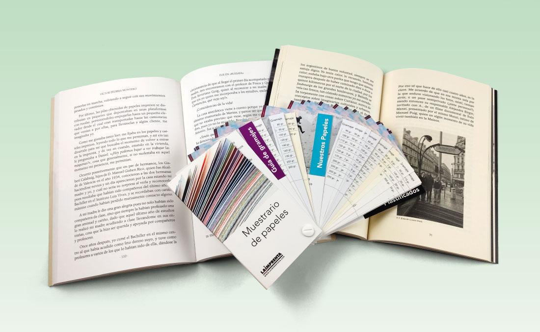 Papeles recomendados para libros en blanco y negro, novelas, poesía, ensayo, manuales