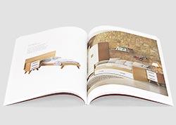 Imprimir catálogos en tapa blanda