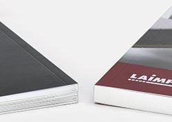Imprimir libros en tapa blanda encolada o cosida