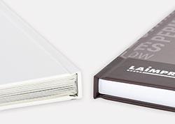 Imprimir libros en tapa dura encolada o cosida