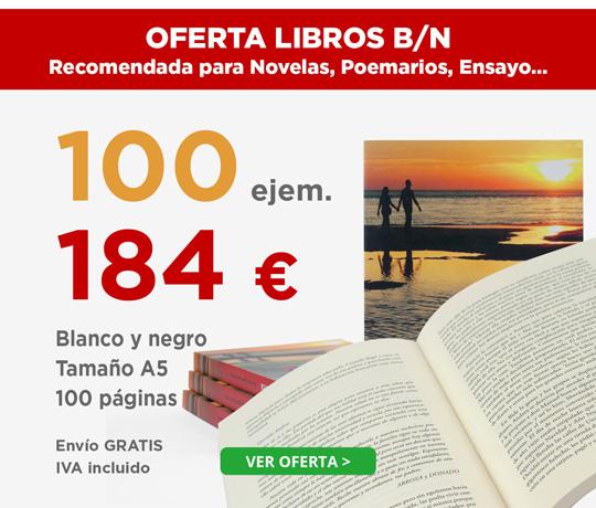 Oferta de impresión de libros para editoriales