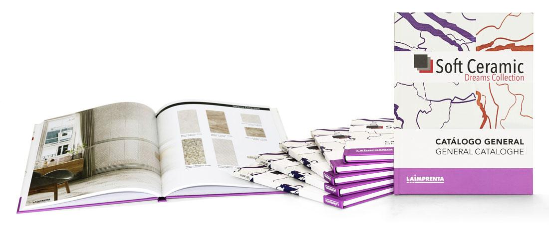 imprimir catálogos con encuadernación tapa dura