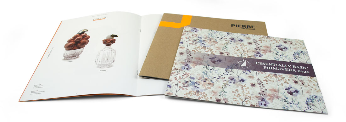 imprimir catálogos con encuadernación grapada